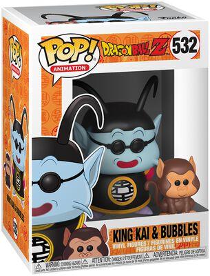 Dragon Ball Z - Maître Kaio et Bubbles - Funko Pop! n°532