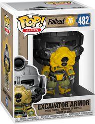 Fallout 76 - Excavator Armor - Funko Pop! n°482