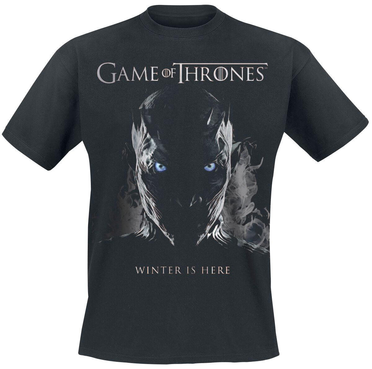 Night King Game Of Thrones T Shirt: Game Of Thrones T-Shirt Manches