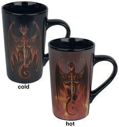 Dragon Warrior - Mug Thermoréactif