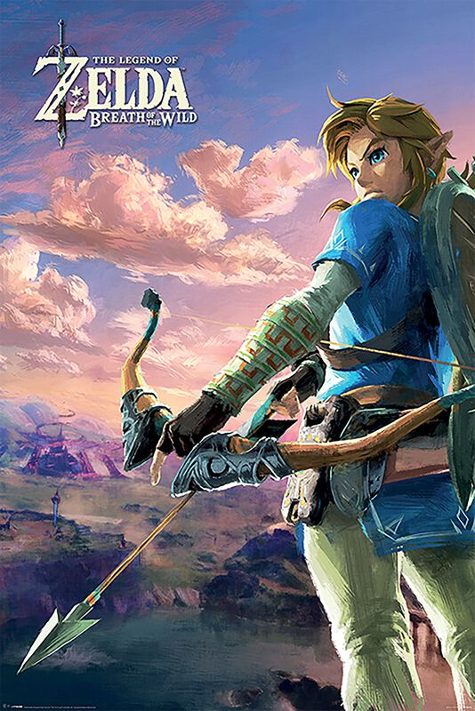 Breath Of The Wild - Paysage d'Hyrule