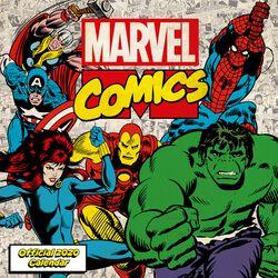 Marvel - Calendrier Mural 2020