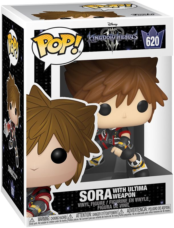 Kingdom Hearts 3 - Sora Avec Ultima - Funko Pop! n°620