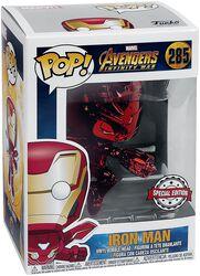 Infinity War - Iron Man ( Rouge Chrome ) - Funko Pop! n°285