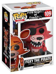 Figurine En Vinyle Foxy Le Pirate 109