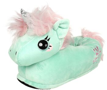 Chaussons Adultes Licorne Jade
