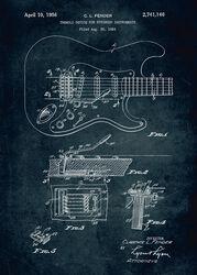 Guitare Plaque (Fender)