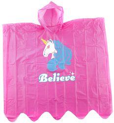 Poncho Imperméable Licorne Believe