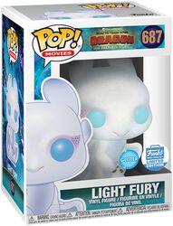 Light Fury (Glitter) (Funko Shop Europe) - Funko Pop! n°687