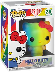 Pride 2020 - Hello Kitty (Arc-En-Ciel) - Funko Pop! n°28