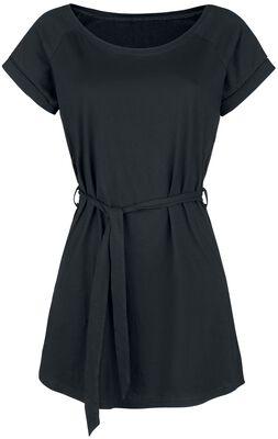 Robe en jersey nouée à la taille