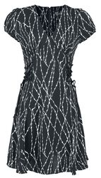 Barbed Wire Mid Dress