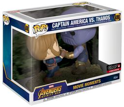 Infinity War - Captain America VS Thanos ( Scènes du film ) - Figurine en vinyle 698