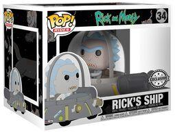 Rick dans son vaisseau - Funko Pop! Ride n°34