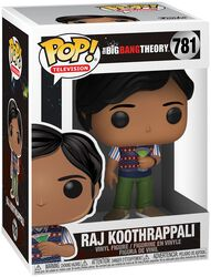 Raj Koothrappali - Funko Pop! n°781