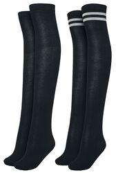 Chaussettes Montantes - Lot De 2 Paires