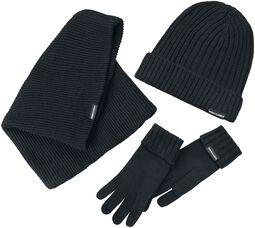 Écharpe, gants et bonnet