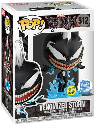 Venomized Storm (GITD) (Funko Shop Europe) - Funko Pop! n°512