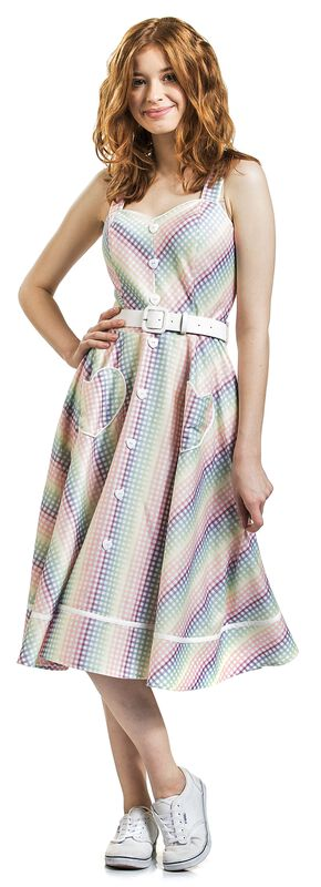 Robe Trixie Gingham Heart - Unreal Red Heads Collaboration