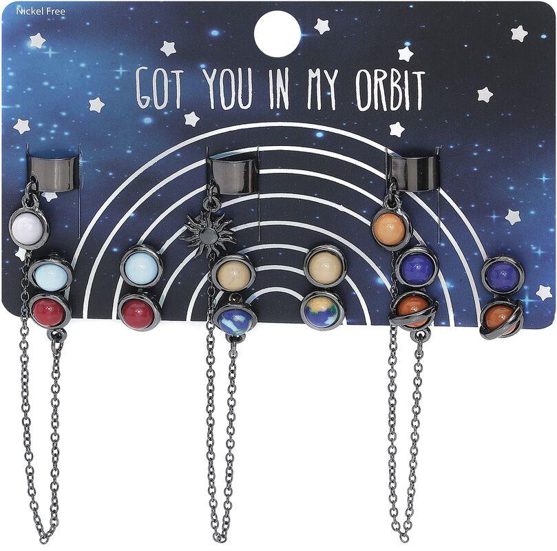 Bijoux D'Oreille Planets