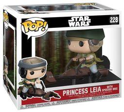 Figurine En Vinyle Princesse Leia Sur Un Speeder 228 (Chase Possible)