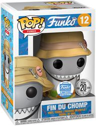 Fantastik Plastik Fin Du Chomp (Funko Shop Europe) - Funko Pop! n°12