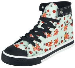 Sneakers Flowers and Bees
