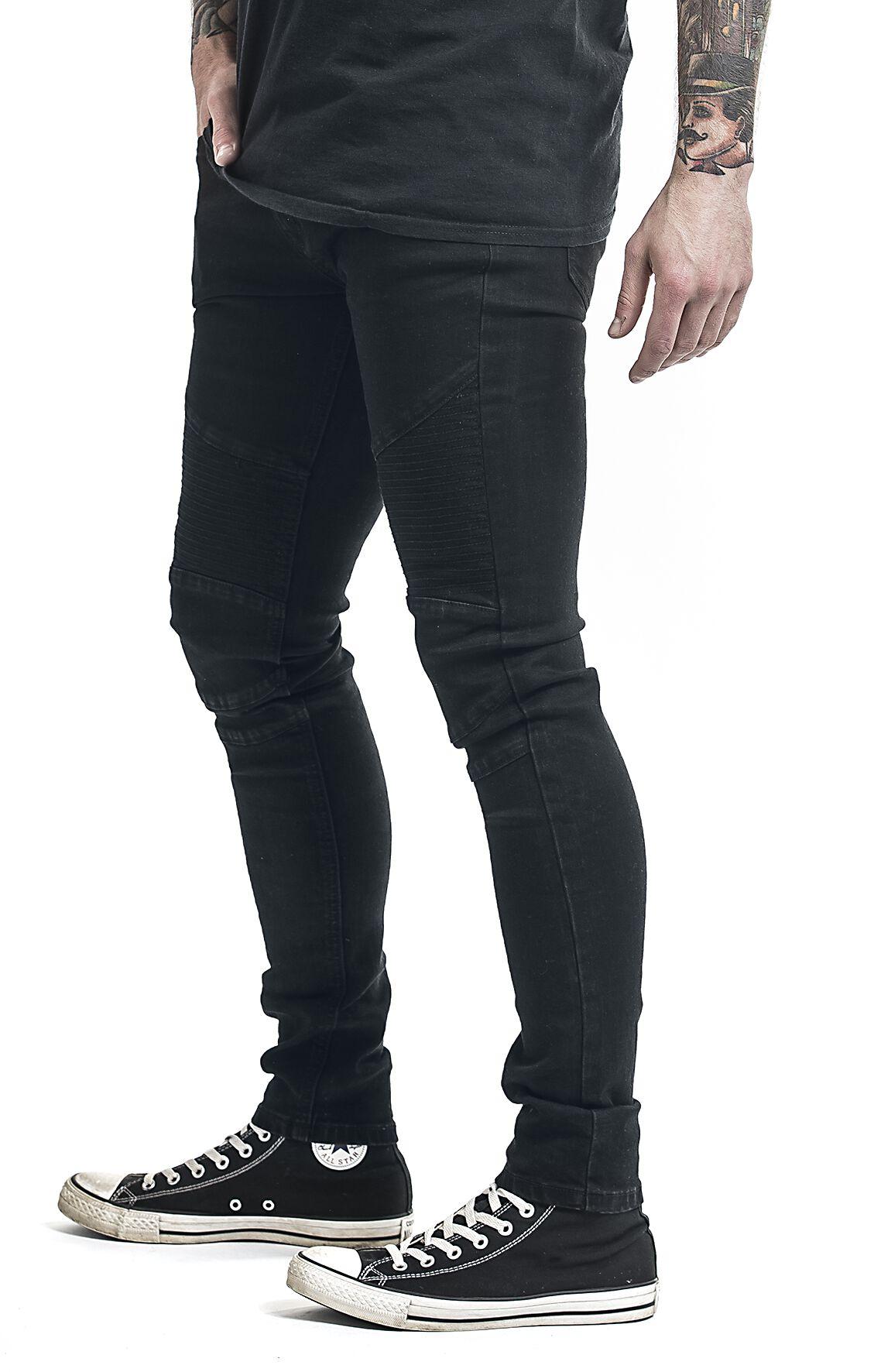 pantalon style motard forplay jean emp. Black Bedroom Furniture Sets. Home Design Ideas