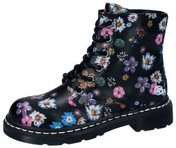 Bottines Flowers All-Over