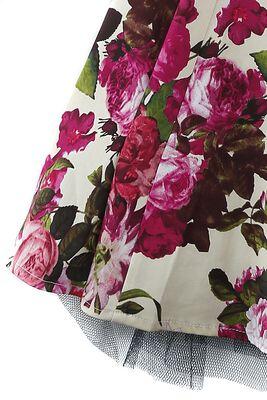 Robe Trapèze Florale Audrey 50's