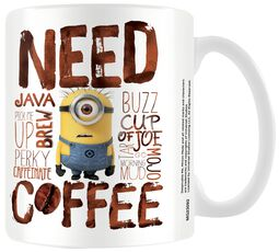 Les Minions - Need Coffee
