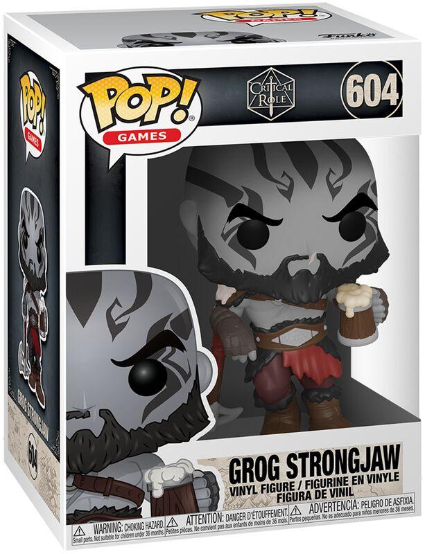 Vox Machina - Grog Strongjaw - Funko Pop! n°604