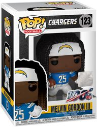 Los Angeles Chargers - Melvin Gordon III - Funko Pop! n° 123