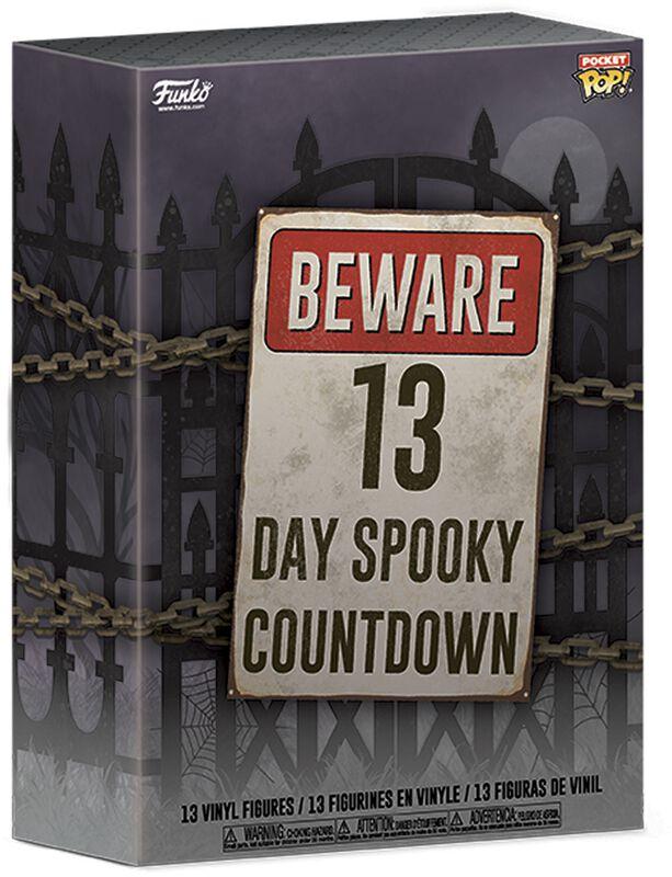 Calendrier Compte À Rebours 13 Jours Halloween