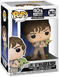 L'Empire Contre-Attaque 40ème Anniversaire - Luke Skywalker & Yoda - Funko Pop! n°363