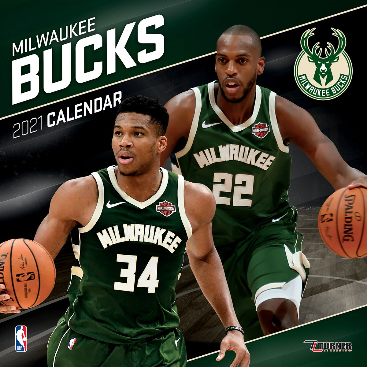 Calendrier 2021 Nba Milwaukee Bucks   Calendrier 2021 | NBA Calendrier mural | EMP