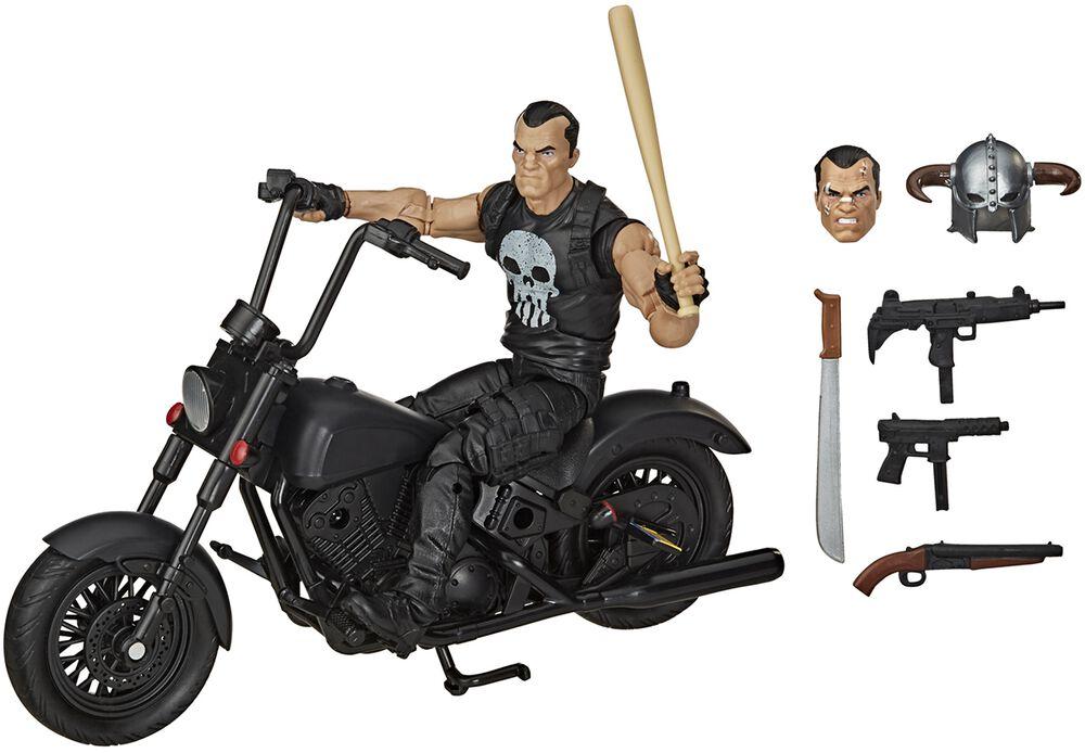 The Punisher & Sa Moto