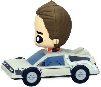 Marty McFly Dans La DeLorean (Figurine Pokis)