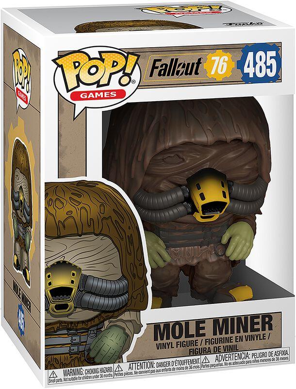 Fallout 76 - Mole Miner - Funko Pop! n°485
