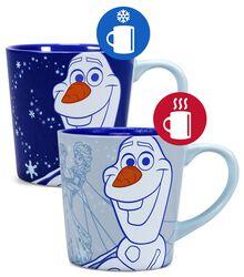 Olaf - Mug Thermo-Réactif