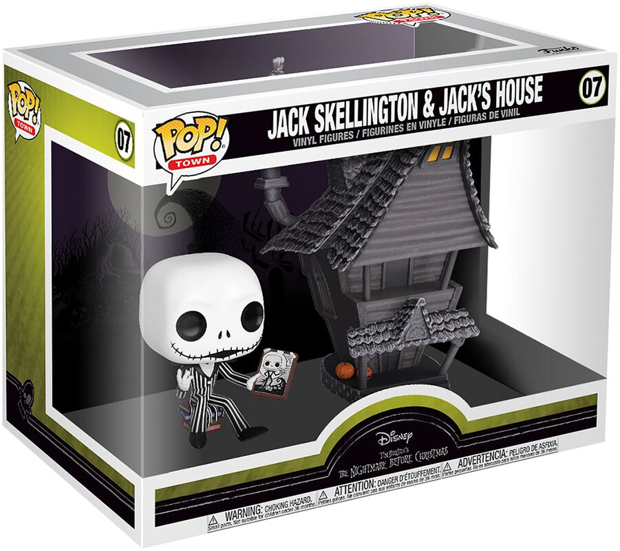 Nightmare Before Christmas Jack Skellington and Jacks House - Funko Pop! n° 07