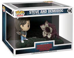Figurine En Vinyle Steve Et Demodog (Movie Moments)  728