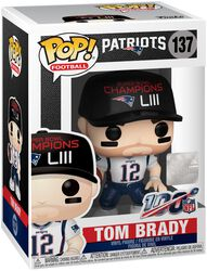 Patriots - Tom Brady - Funko Pop! n°137