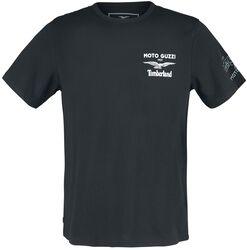 T-Shirt Moto Guzzi Imprimé Dos
