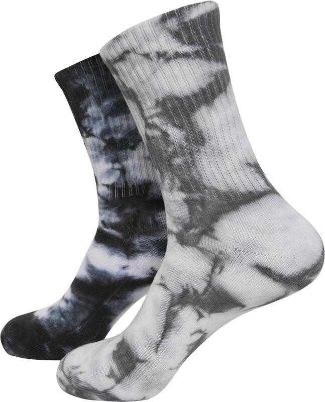 Chaussettes Hautes Tie Dye - Lot De 2