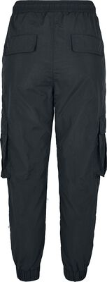 Pantalon Cargo Taille Haute Crinkle