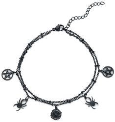 Chaîne De Cheville Pentagramme Araignée