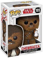 Épisode 8 - Les Derniers Jedi - Figurine Bobblehead Chewbacca Et Porg 195