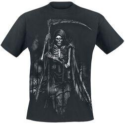 T-Shirt Noir Faucheuse