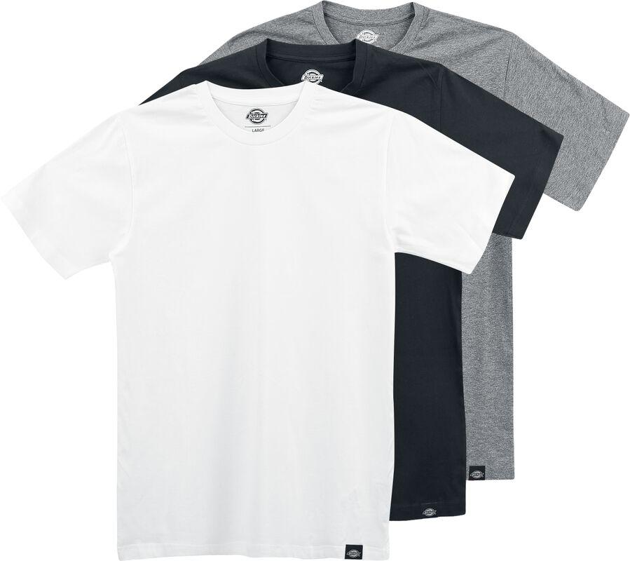 T-Shirts Couleurs Assorties - Lot de 3